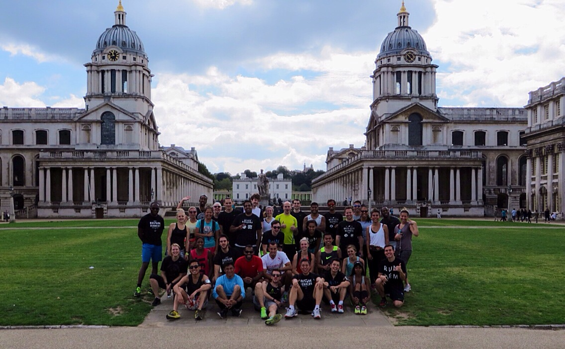 On The Run 3 - Greenwich