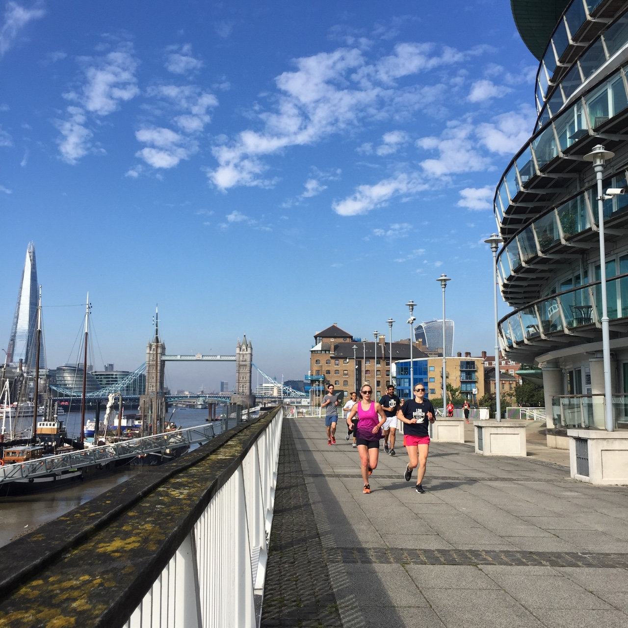 Running to Ceviche - 2 - Tower Bridge