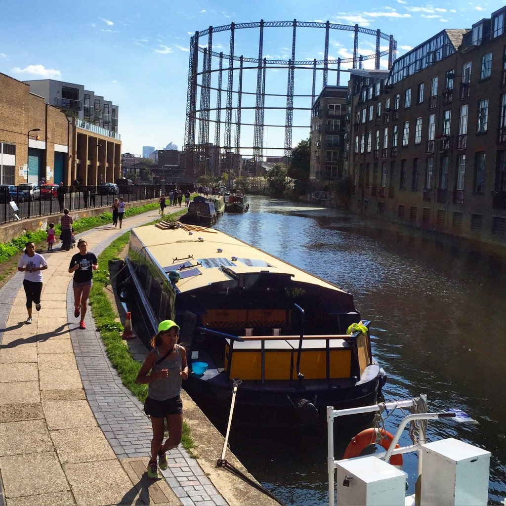 Running to Ceviche - 5 - Regent's Canal