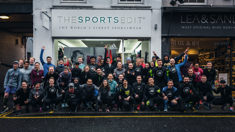 London Marathon training powered by LDN Brunch Club