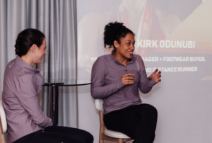 Emma Kirk Odunubi at LDN Brunch Club's International Women's Day event